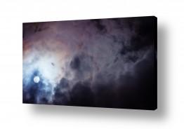 איה אפשטיין הגלרייה שלי | ירח בעננים
