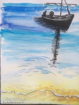 סירה בים