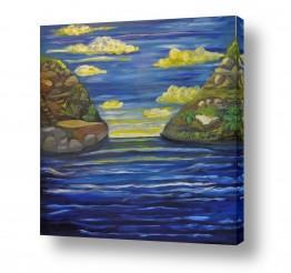ציורים מים | מפרץ האשליות