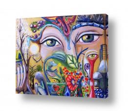ציורים ציור | סימפוניית צבעים