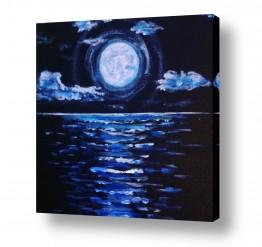 אסטרונומיה ירח | ירח וים