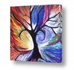 ציורים אילה ארויו | עץ החיים