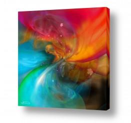 ציורים אמנות דיגיטלית | אש ומים