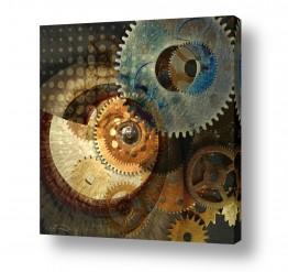 תמונות לפי נושאים ציור עכשוי | גלגלי הזמן