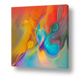 תמונות לפי נושאים ציור עכשוי | COLOR FLOW 2