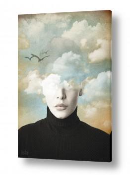 ציורים אנשים ודמויות | ראש בעננים