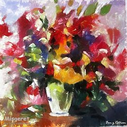 ציורי פרחים - והרבה