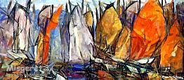 מפרשים וסירות