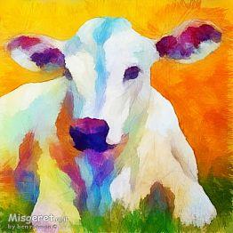 פרה חמודה