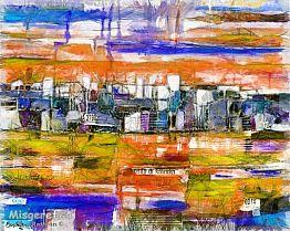 אבסטרקט של עיר