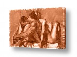 ציורים אנשים ודמויות | זוגיות
