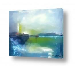 ציורים מים | השקט שלפני הסערה
