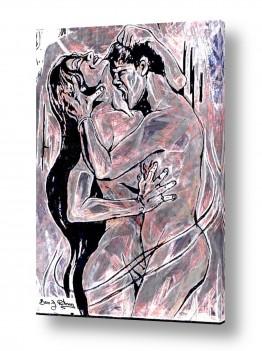 ציורים עירום | תשוקה  אירוטית