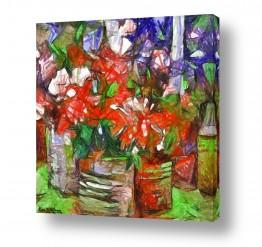 ציורים אמנות דיגיטלית | אדום
