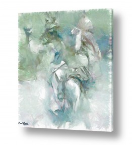 ציורים בעלי חיים | המדבר הלבן