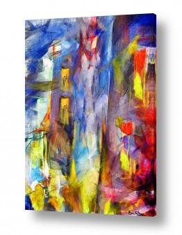 ציורים עירוני וכפרי | יש אור בבית