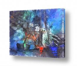 ציורים מים | סערה