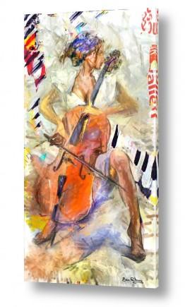 ציורים אנשים ודמויות | מוסיקה אלטרנטיבית