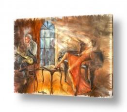 ציורים בן רוטמן | עשן אור ואוירה