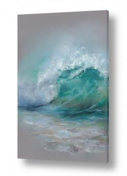 מים נוף ים | גל