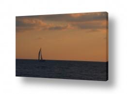 צילומים תחבורה | סירה באופק