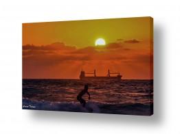 ספורט ספורט ימי | גלישה אל השקיעה