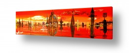 איטליה ונציה |  ונציה באדום