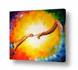 תמונות לפי נושאים אצבע | מגע אלוהי
