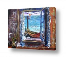 כלי שייט אוניה | חלון החלומות