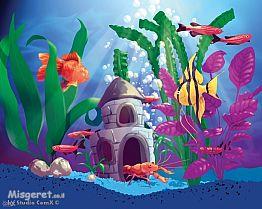 אקווריום עם דגים