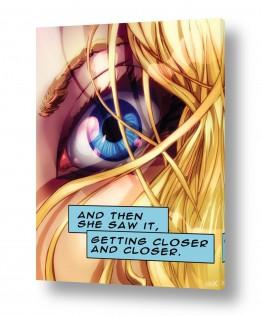 סטריפ קומיקס העין הכחולה