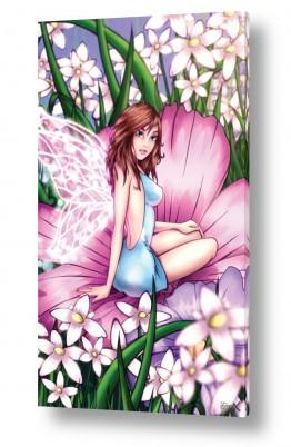תמונות לפי נושאים נרקיסים | פיית הפרחים הורודים