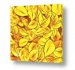 צמחים עץ |  Yellow Leave 2