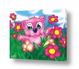 חיות חיות בר | Bear pink