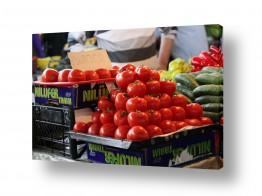 עולם אירופה | עגבניות בשוק