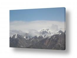 נוף תמונה פנורמית | פסגות בעננים