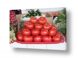 תמונות למטבח | עגבניות במרכז