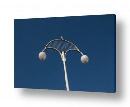 סגנונות אבסטרקט | תאורה אל מול שמים