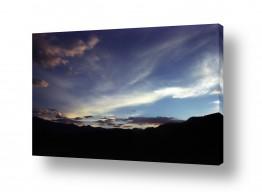 צילומים דן ששתיאל | עננים אל האופק