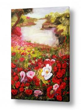 אמנים מפורסמים ציורים שנמכרו | פרחי היער