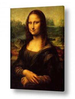 אמנים מפורסמים לאונרדו דה וינצי | מונה ליזה