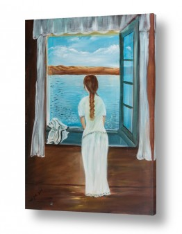 ימים ואגמים בישראל כנרת | אישה