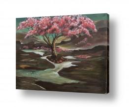 ציורים מים | אחרי הגשם