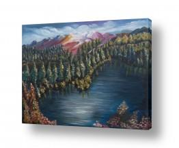 ציורים מים | יערות הצפון