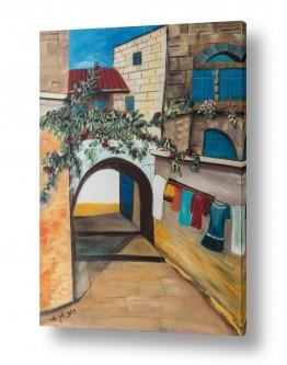 ציורים ציור | עיר העתיקה