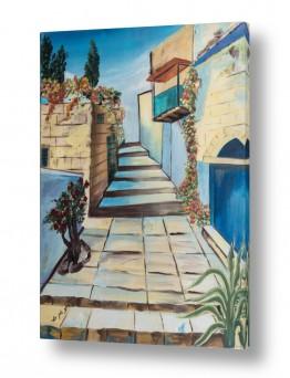 נוף עירוני סמטאות | ירושלים8