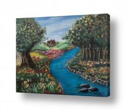 ציורים נופים וטבע | אפיק