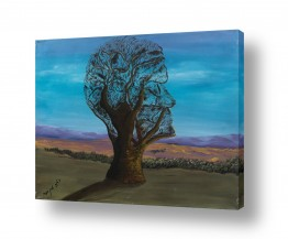ציורים טבע דומם | עץ השדה