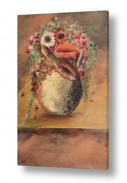 ציורים דיאנה אורן | עציץ