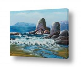 ציורים מים | גלים